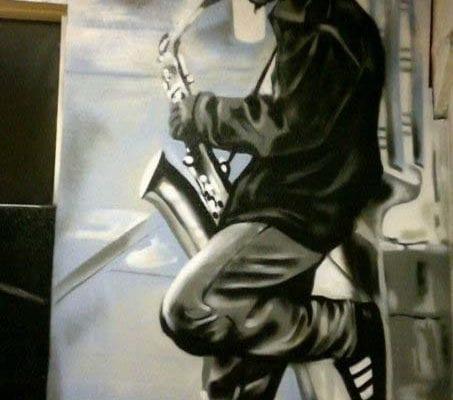 Skate Park Mural | Electric Fresco Tattoos PDX